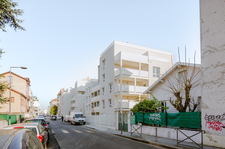 FORMIDABLE architectes - projet immeuble logements collectifs Lyon Villeurbanne