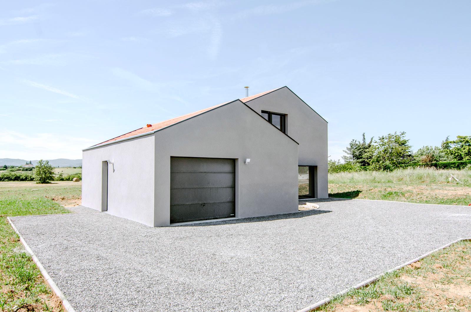 Formidable Architectes - Projet Maison Brignais