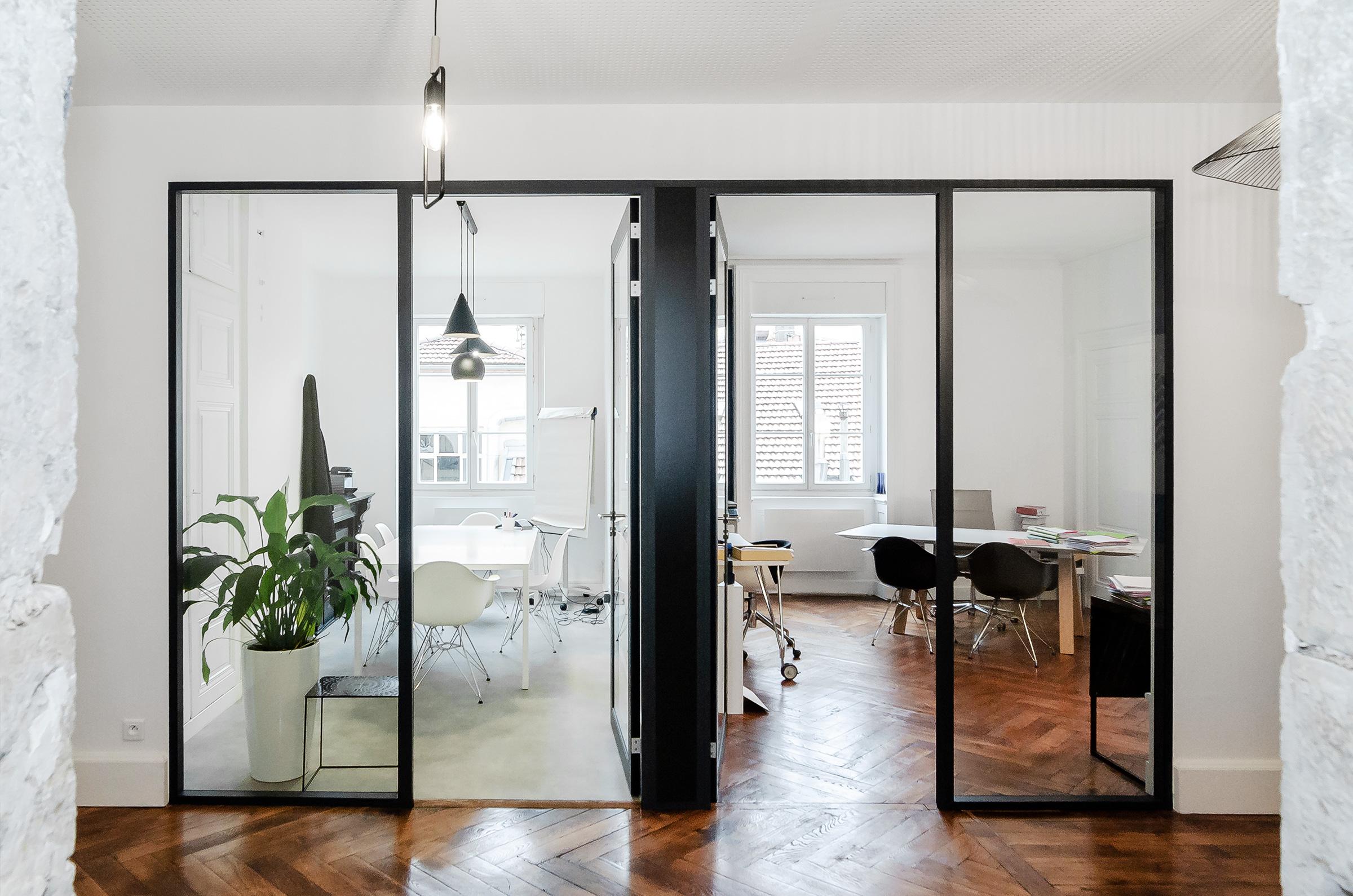transformation d'appartement et aménagement de bureaux à Lyon