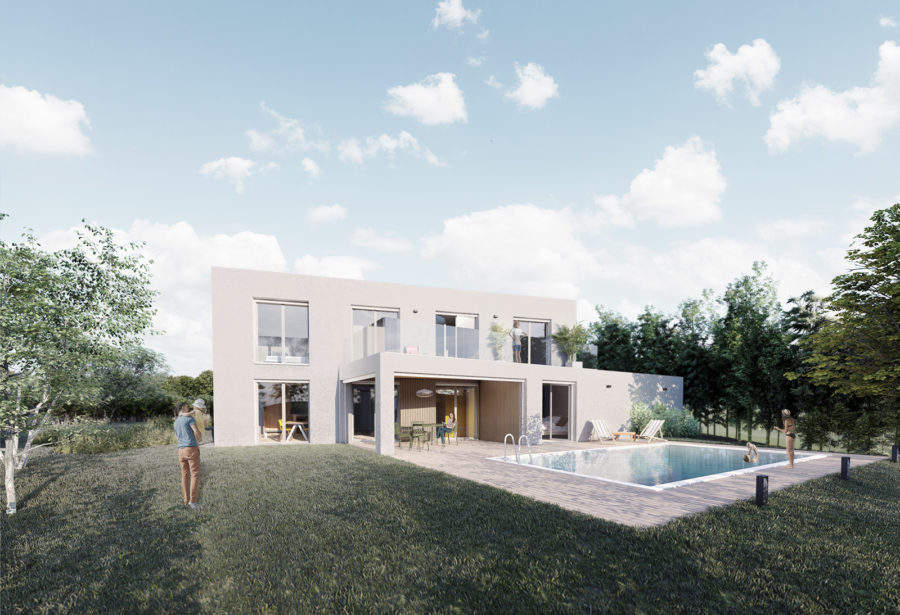 Formidable Architecte - Projet - villa Serpoly - 1