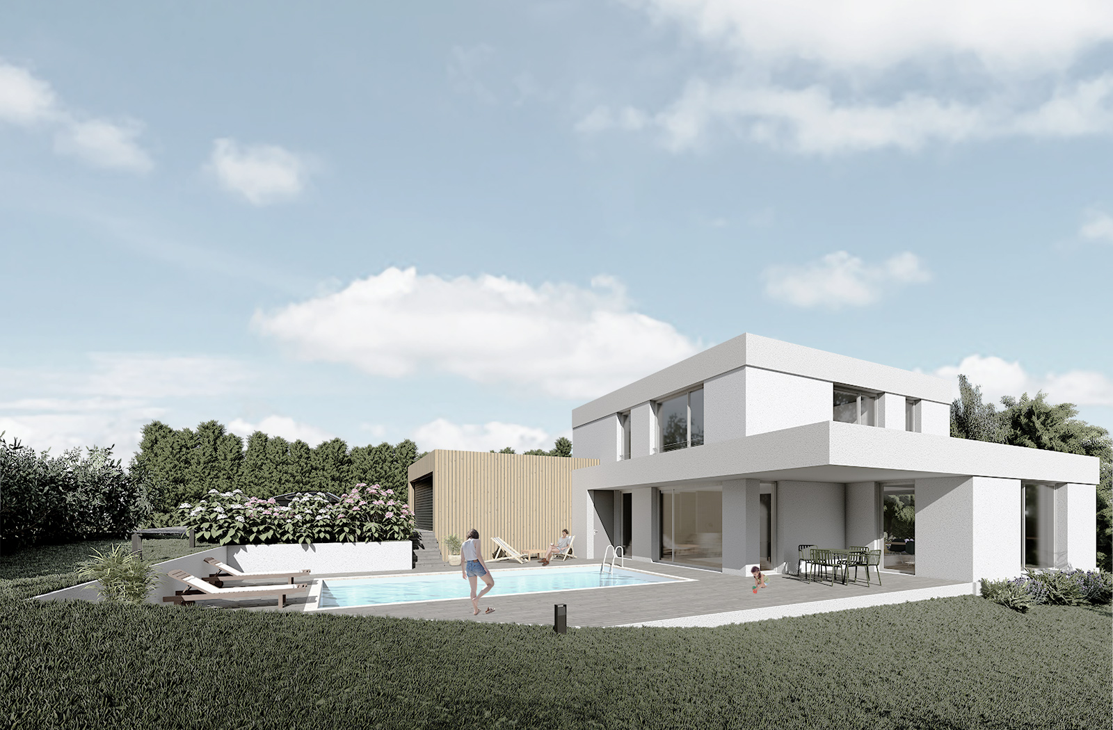 Formidable Architecte - Projet - villa Serpoly - 2