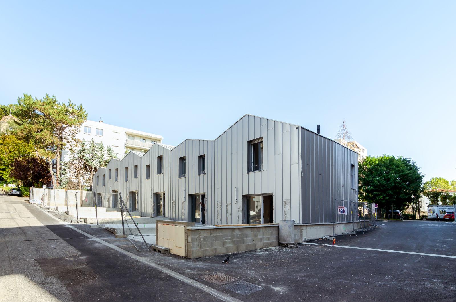 FORMIDABLE architectes - Projet - maisons en bande Louis Mouillard - chantier 3