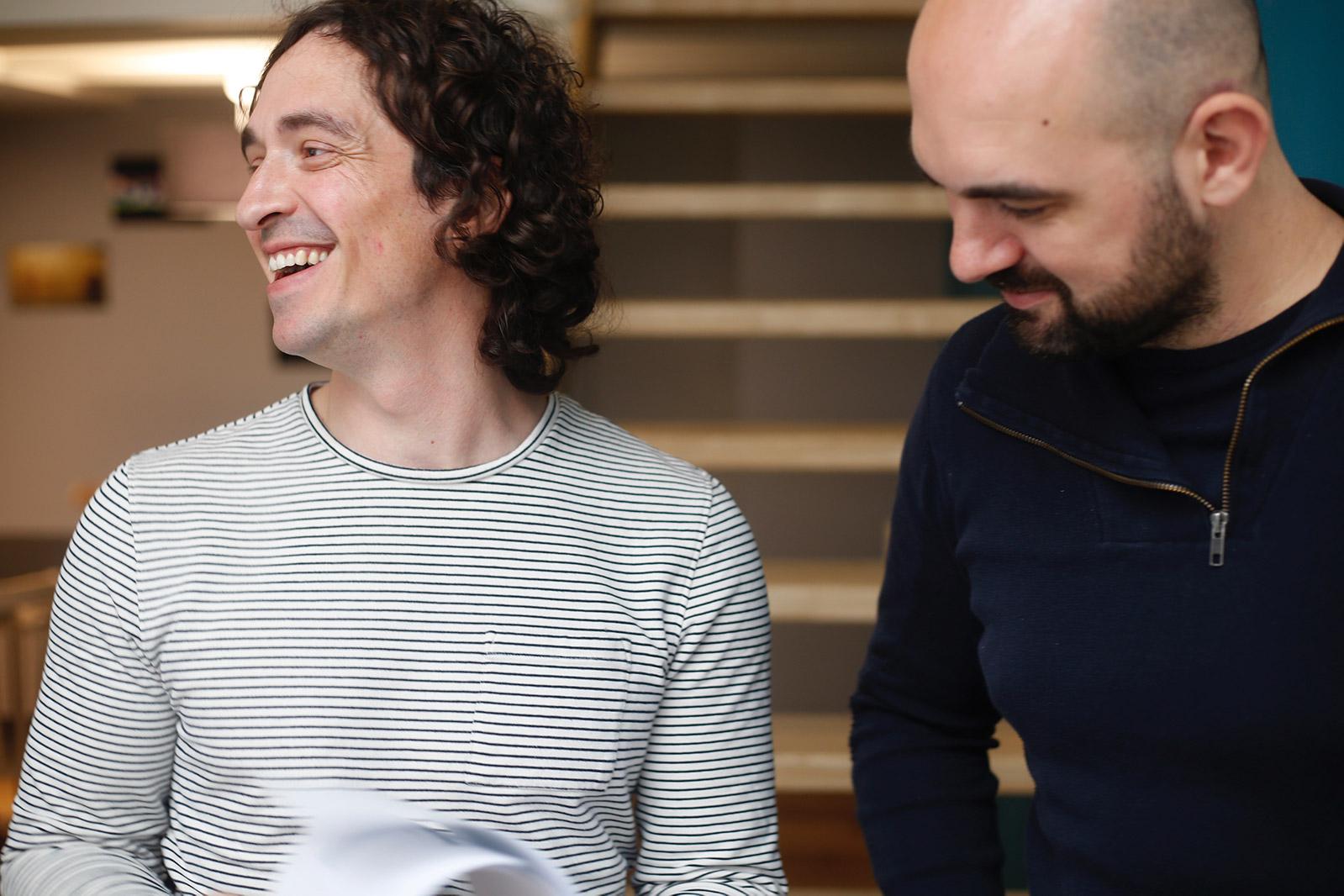 Christophe Chevillard, architecte HMONP, et Damien Mikolajczyk, architecte DPLG