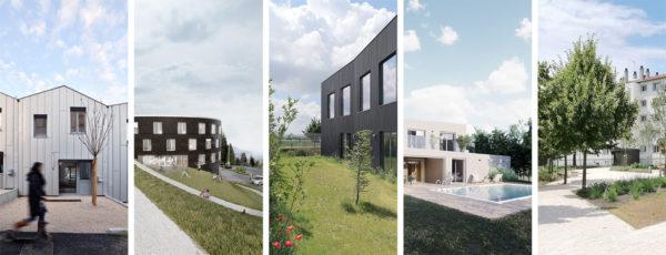 projets variées publics et privés réalisés par FORMIDABLE architectes